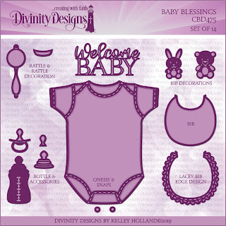 Divinity Designs Custom Baby Blessings Dies