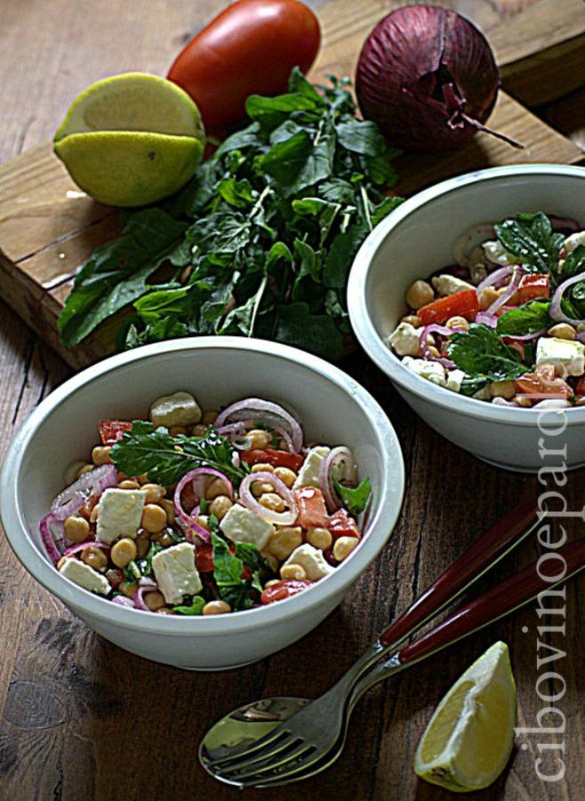 insalata vegetariana