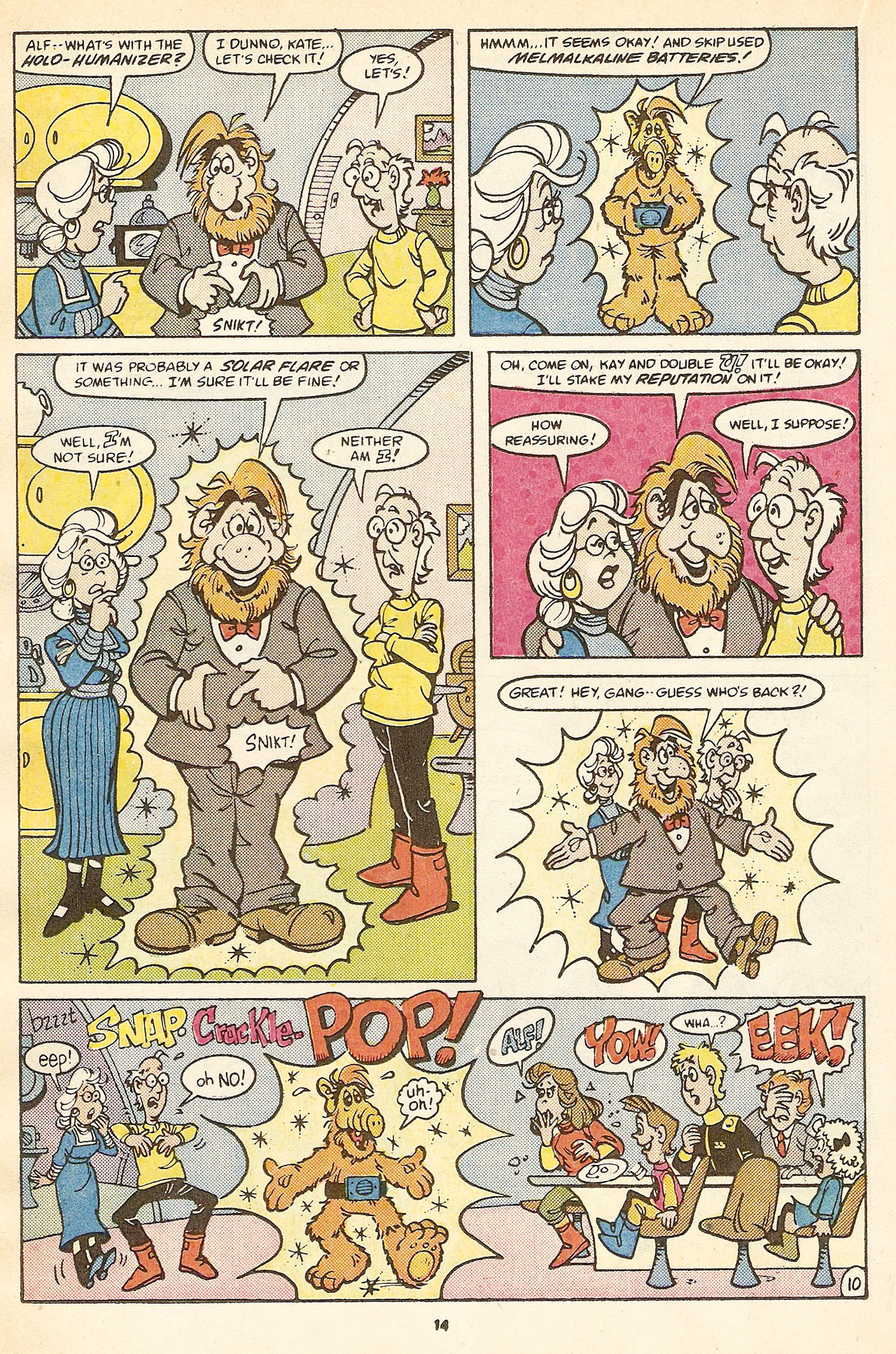 Read online ALF comic -  Issue #17 - 16