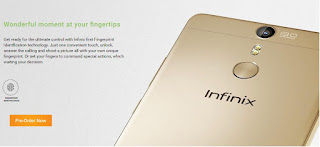 Infinix HOT S Full Specs and Price