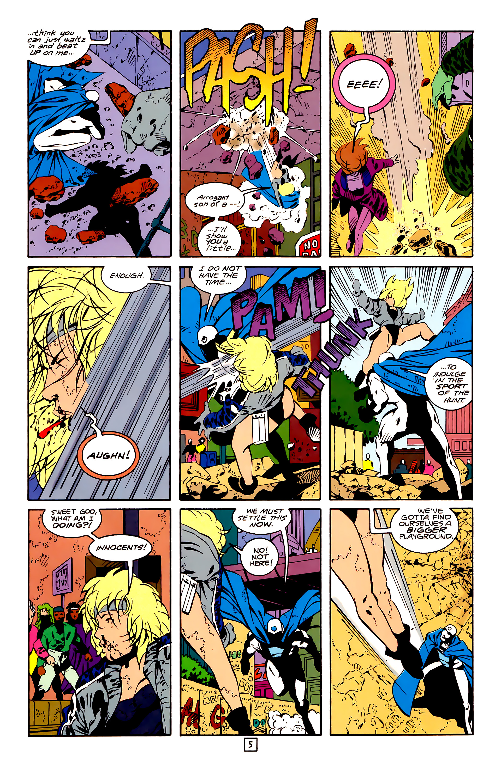Legion of Super-Heroes (1989) 26 Page 5