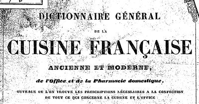 T l charger dictionnaire g n ral de la cuisine fran aise - Dictionnaire cuisine francais ...