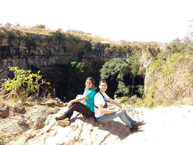 Buraco das Araras Rapel Formosa Goiás
