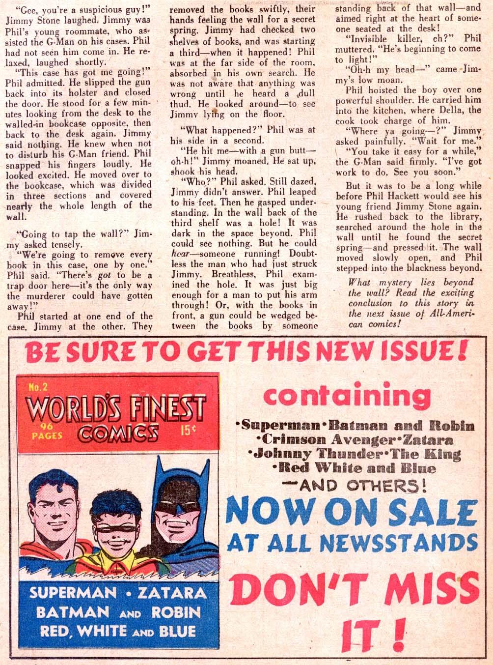 Read online All-American Comics (1939) comic -  Issue #30 - 49