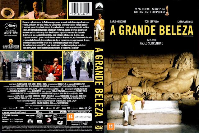 Capa DVD A Grande Beleza