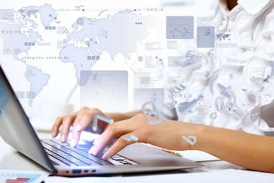 Gunakan website profesional