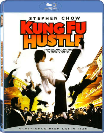 Poster Of Kung Fu Hustle 2004 Dual Audio 300MB BRRip 480p Free Download Watch Online Worldfree4u