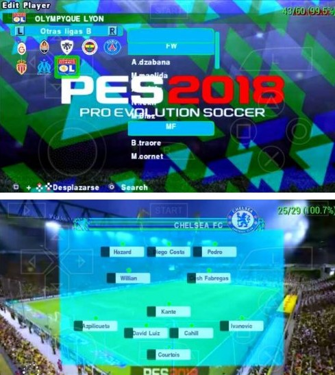 Download PES 2018 Army MOD PPSSPP Android