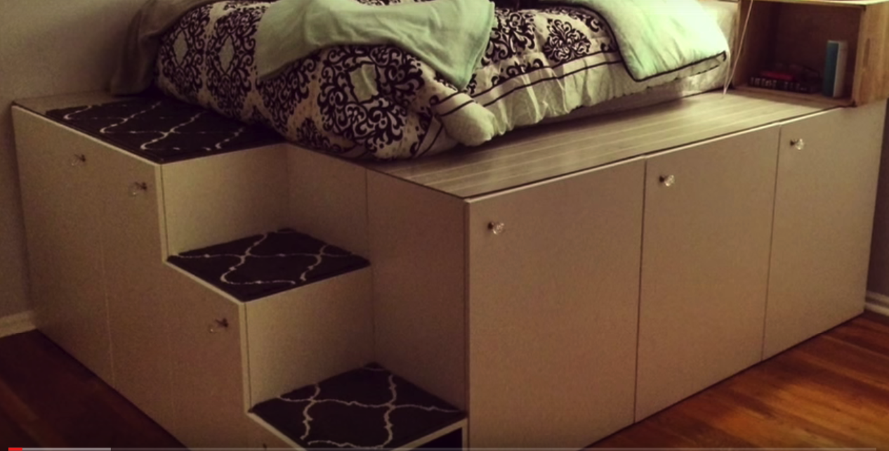 ikea bett hack die. Black Bedroom Furniture Sets. Home Design Ideas
