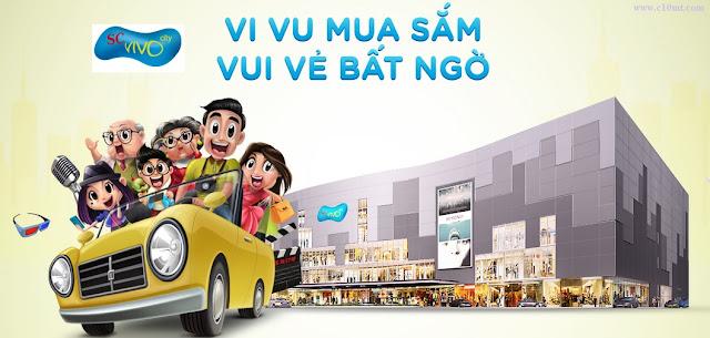 Địa điểm đẹp ở Sài Gòn SC VivoCity www.c10mt.com