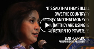 Watch: Robredo to 'do everything' to block Marcos return to power