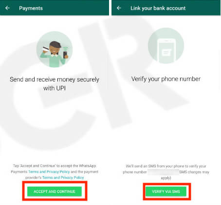 WhatApp Payment in India
