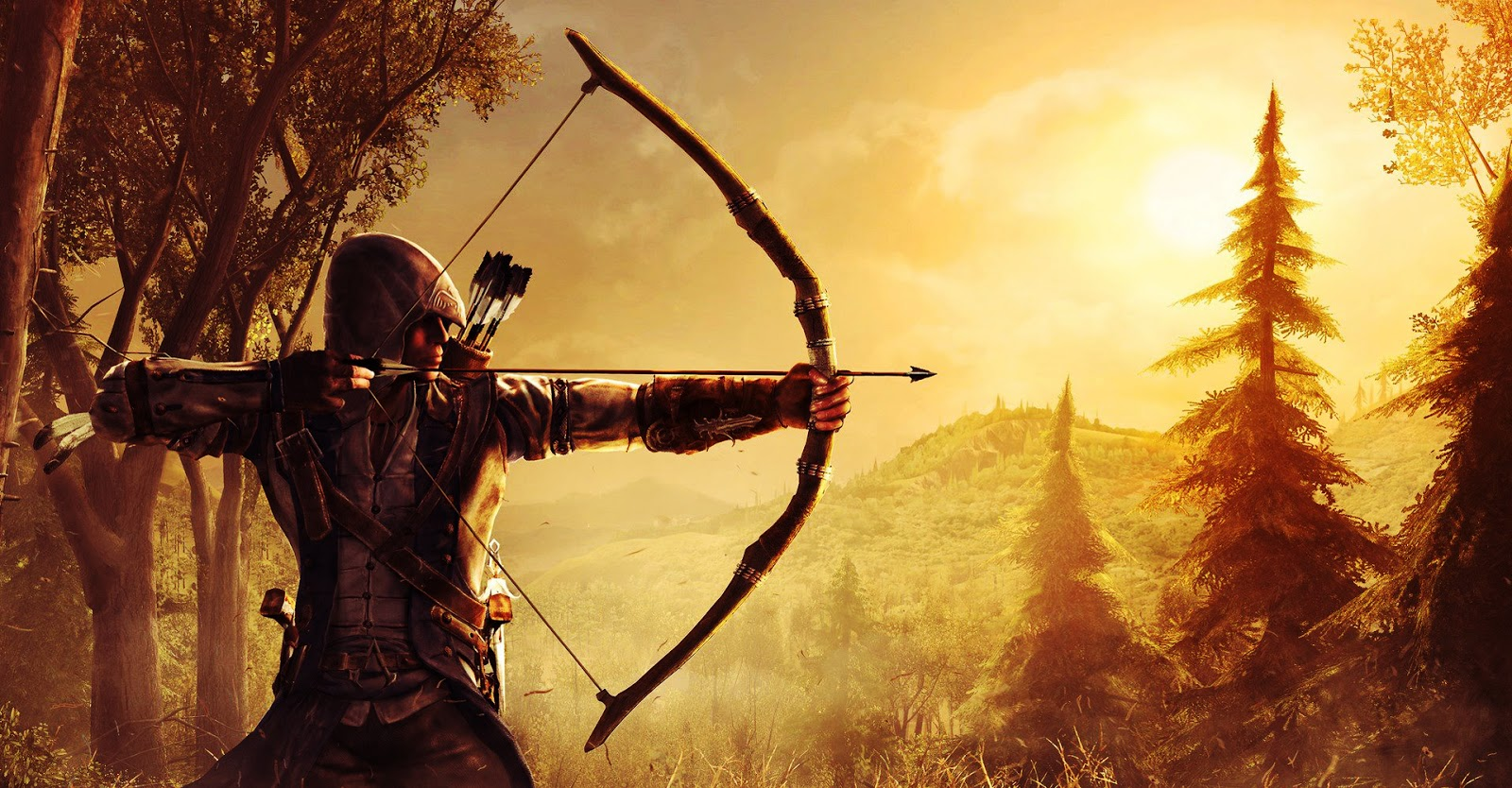 Big Cute Wallpaper Desktop Wallpaper Assassin S Creed Iii Archer Desktop