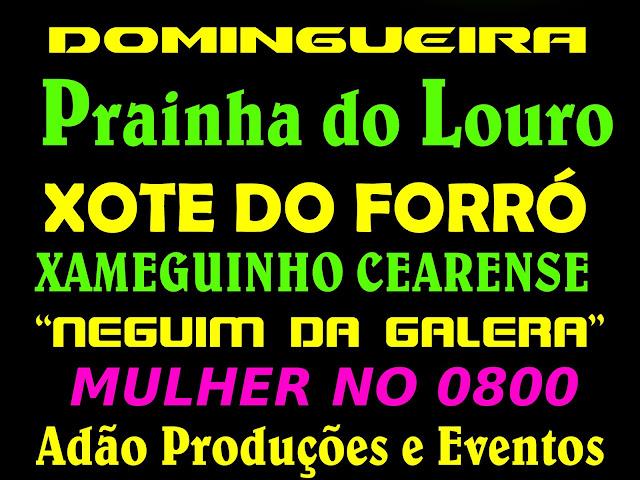 DOMINGUEIRA NA PRAINHA DO LOURO