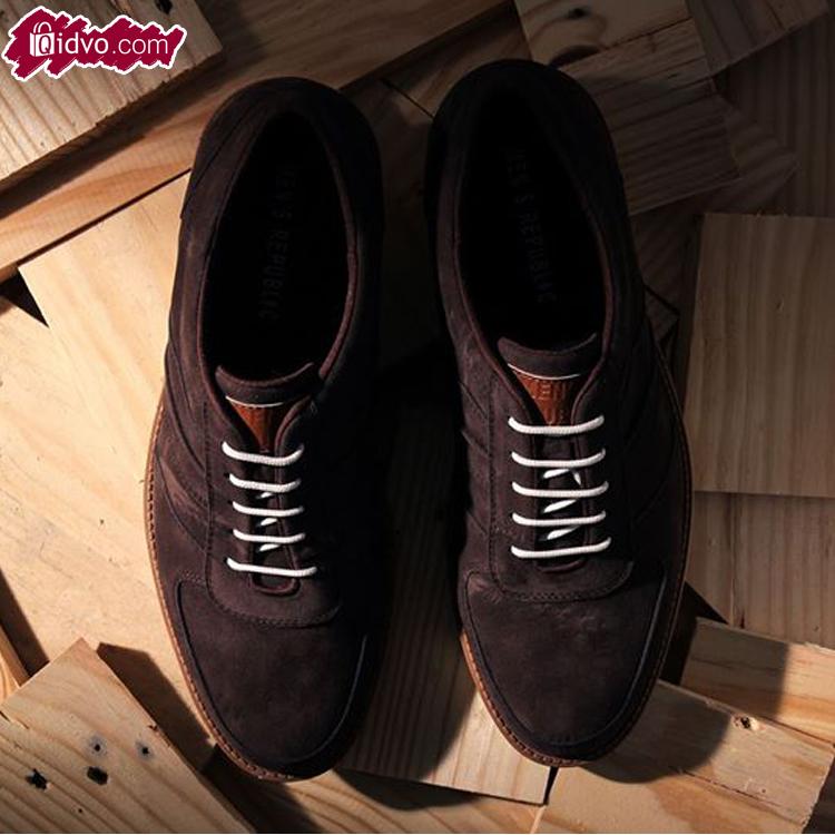Sepatu Casual Mens Republic Dashing - Brown