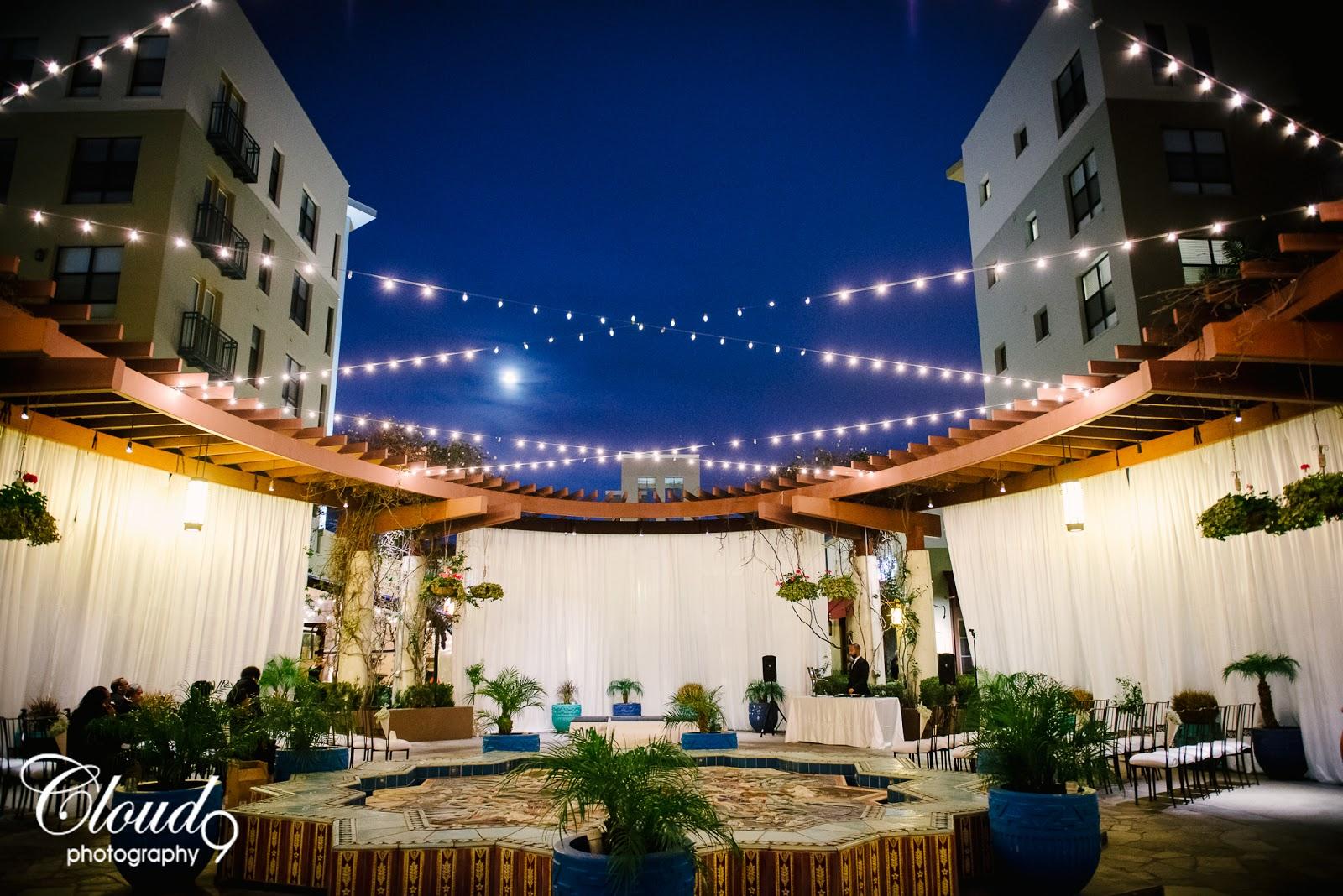 Cloud 9 Photography Noor Pasadena Night Wedding Photos Bride Groom Brea Los Angeles Orange County Photographer