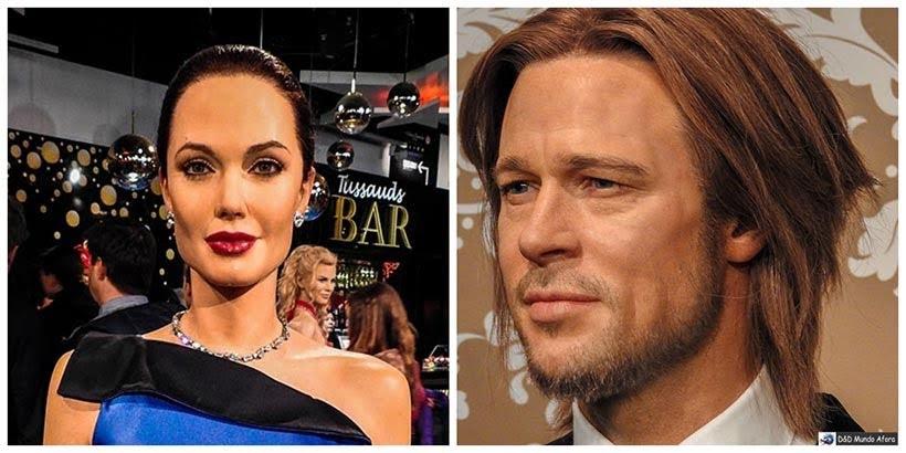 Angelina Jolie e Brad Pitt - Madame Tussauds: Como visitar o museu de cera de Londres