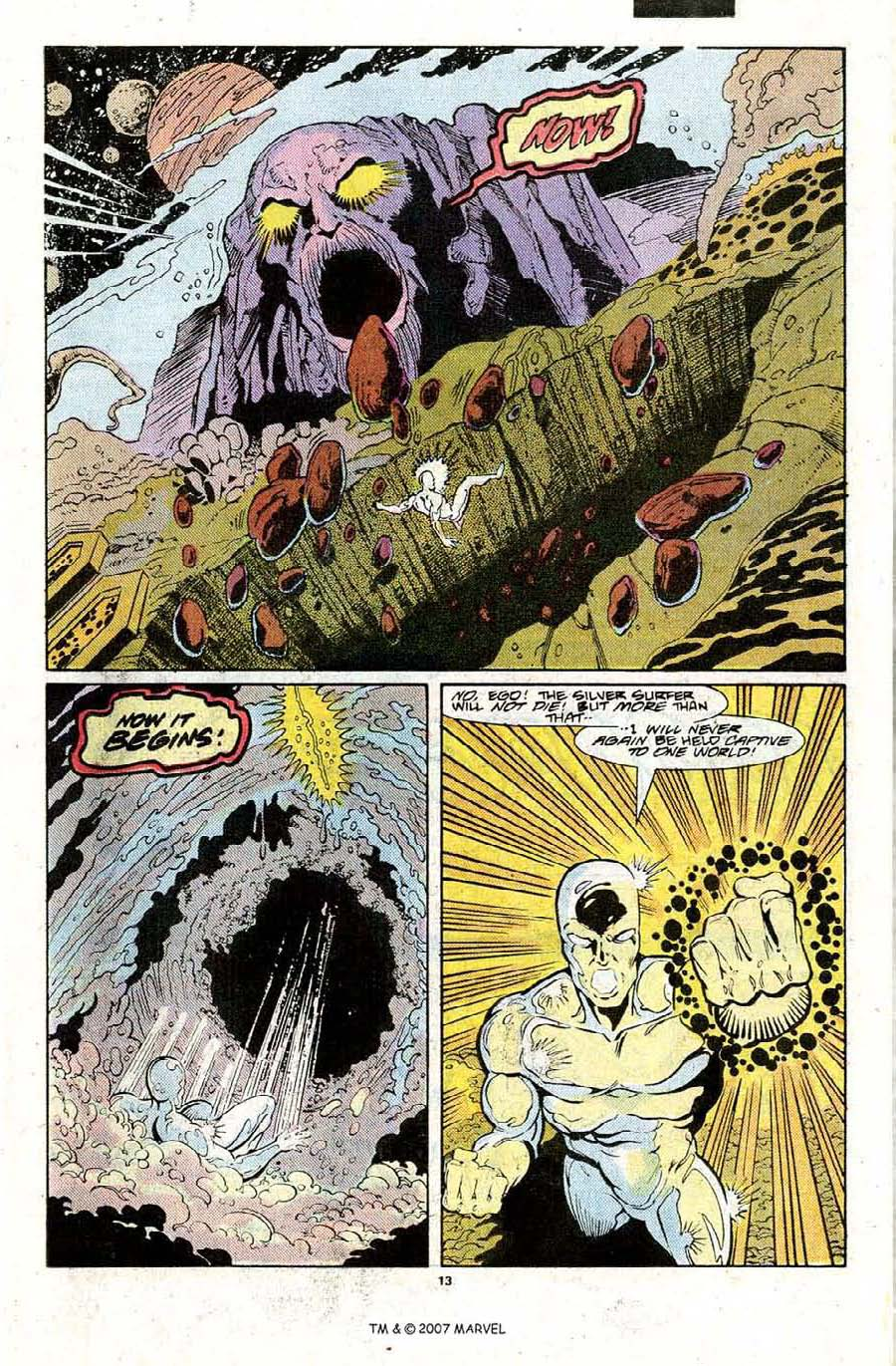 Read online Silver Surfer (1987) comic -  Issue #22 - 15