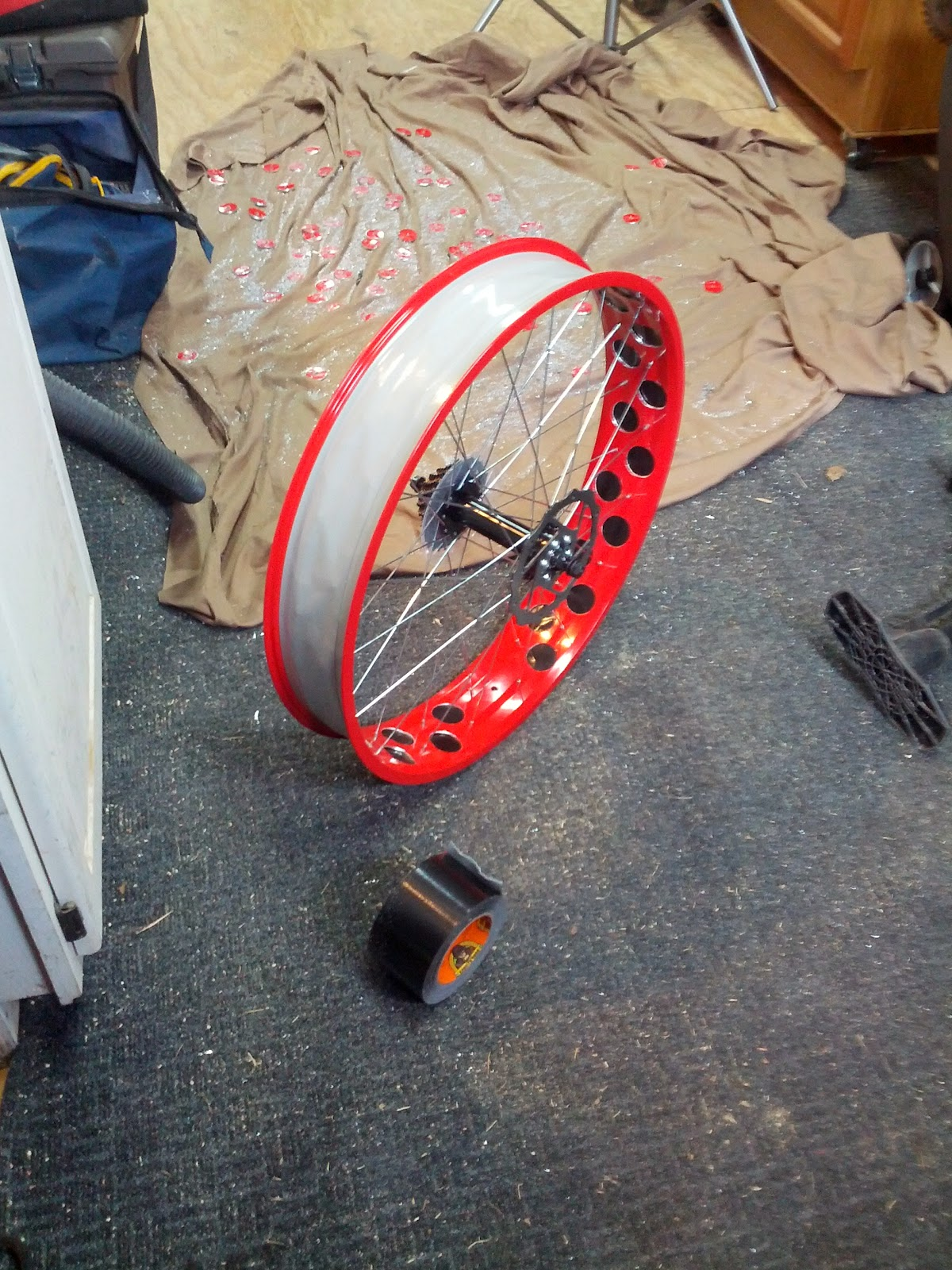 Right To Bike How To Drill Your Rims