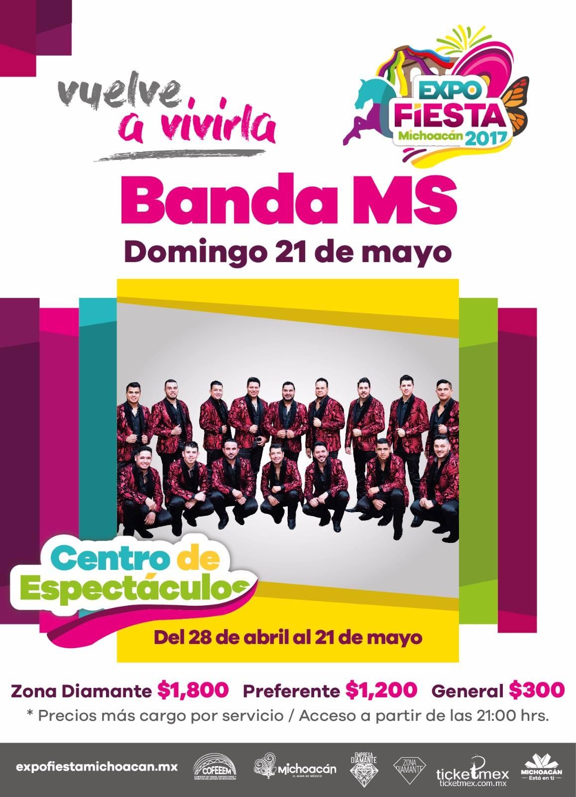 Hoy banda ms en la ltima noche del centro de for Espectaculos del dia de hoy en mexico
