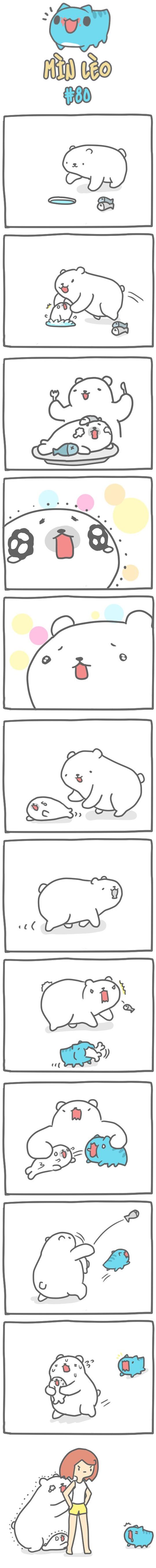 Truyện Mìn Lèo #80: Gấu bắc cực