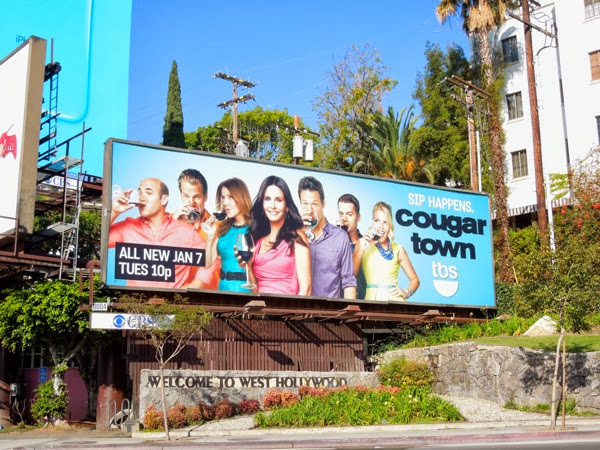 Cougar Town season 5 tbs billboard