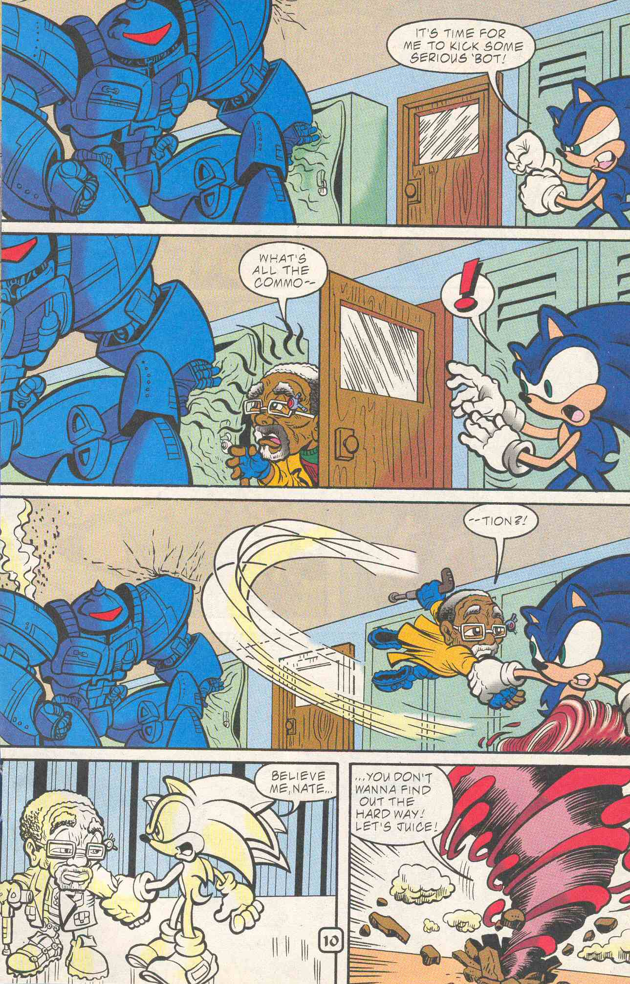 Read online Sonic The Hedgehog comic -  Issue #96 - 11