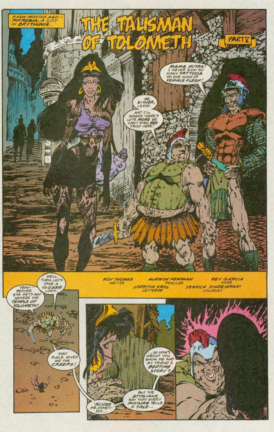 Read online Conan the Adventurer comic -  Issue #13 - 21
