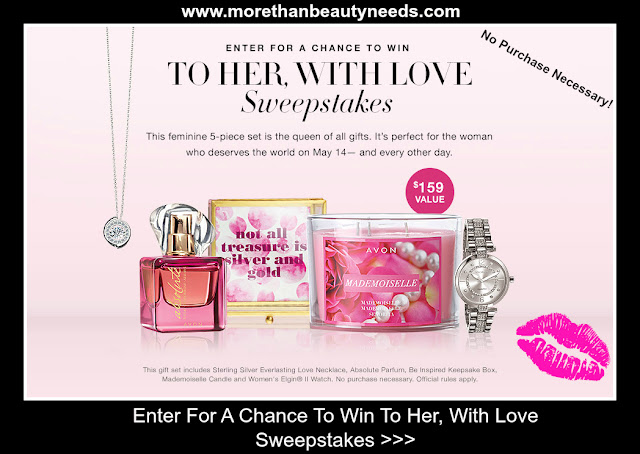 Enter For A Chance To Win - To Her, With Love Sweepstakes
