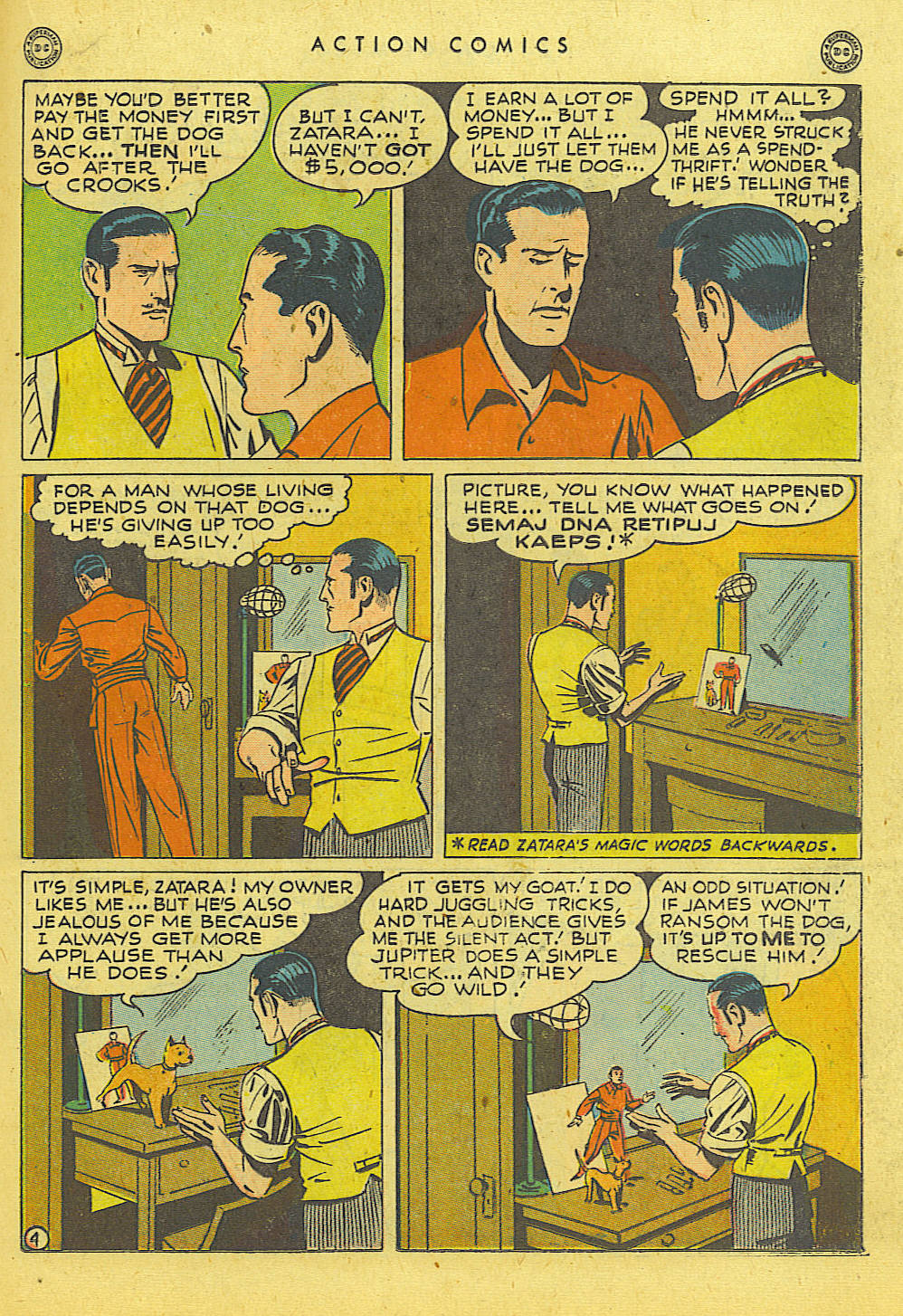 Read online Action Comics (1938) comic -  Issue #114 - 27
