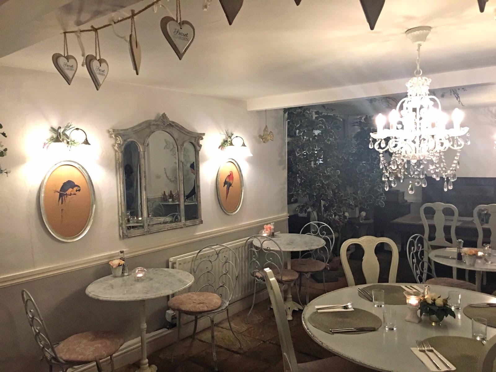 A review of Beck Hall Hotel and Bistro, Malham, Yorkshire Dales. The Secret Garden Bistro, Beck Hall, Malham