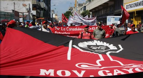 El Movimiento Gayones ante la actual Agresión Imperialista y la Convocatoria a Elecciones Presidenciales