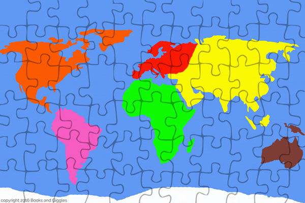 3 free puzzles to make learning the continents fun the puzzle with the smaller pieces will take some patience to cut out the one with the larger pieces isnt that bad gumiabroncs Choice Image