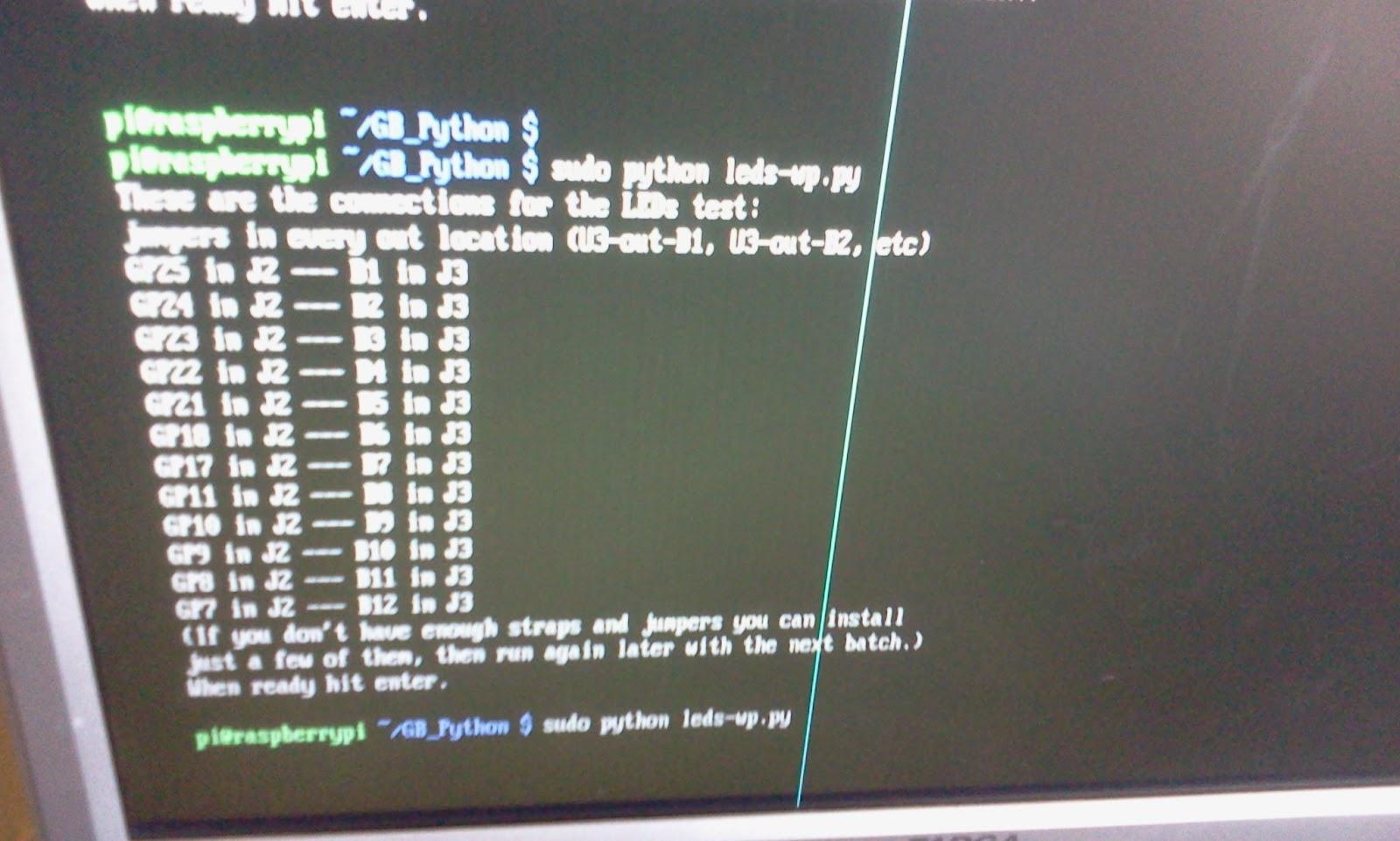 Wiringpi Python Interrupts