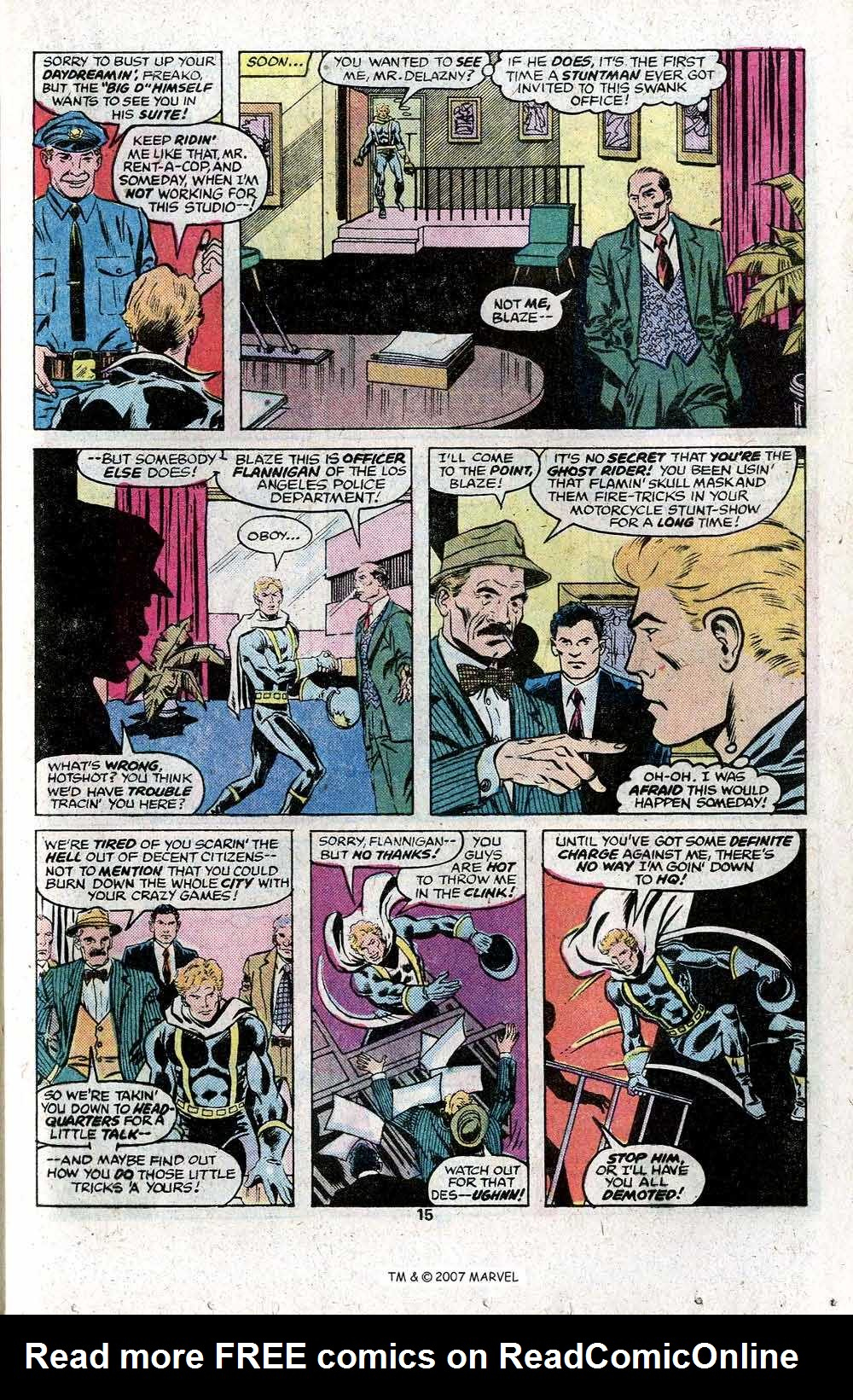 Ghost Rider (1973) Issue #22 #22 - English 17