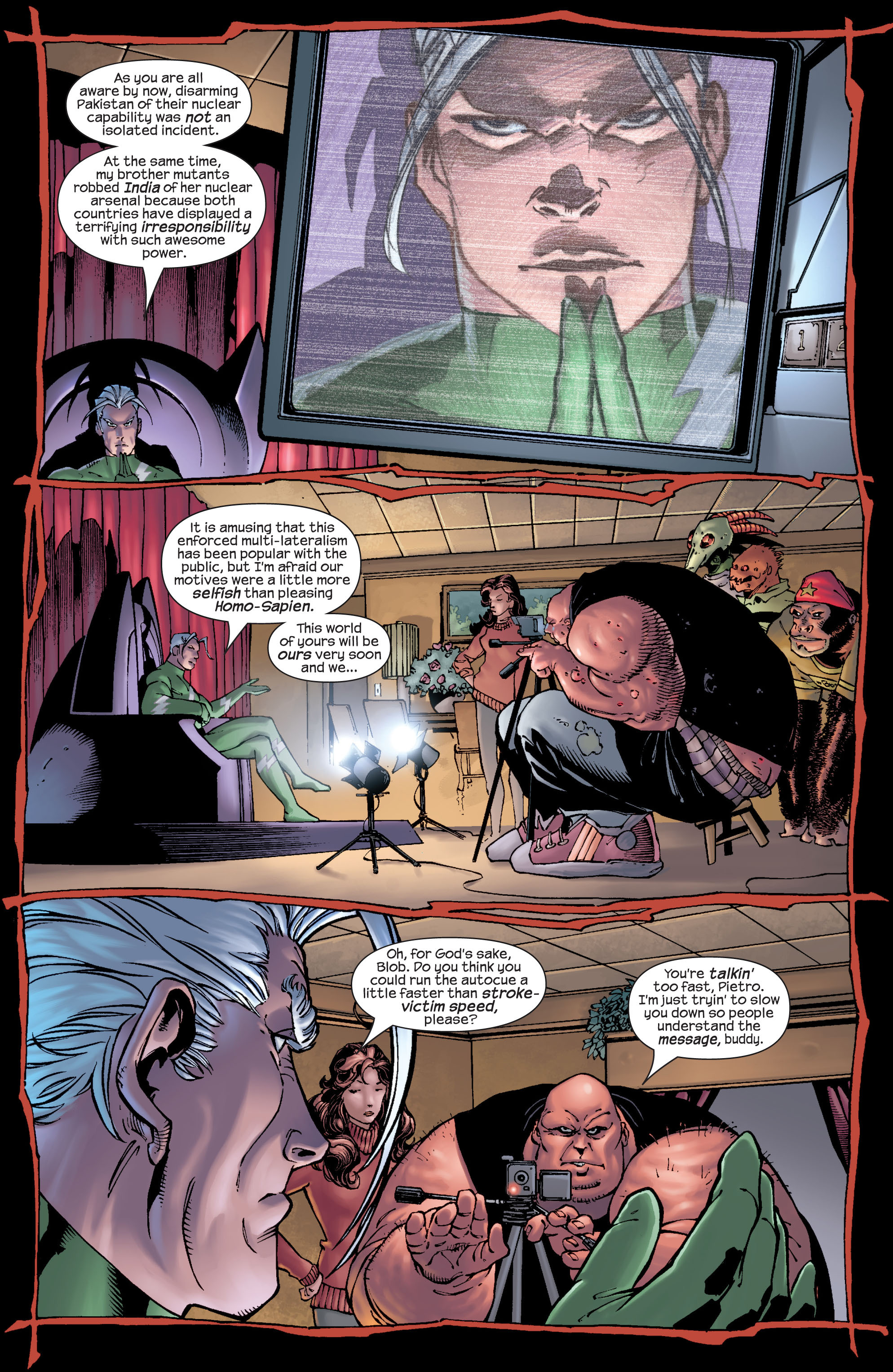 Read online Ultimate X-Men comic -  Issue #22 - 9
