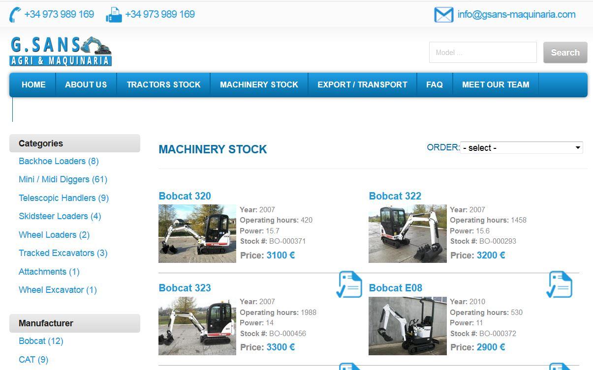 Warning: Fraudulent websites for heavy equipment | MEVAS