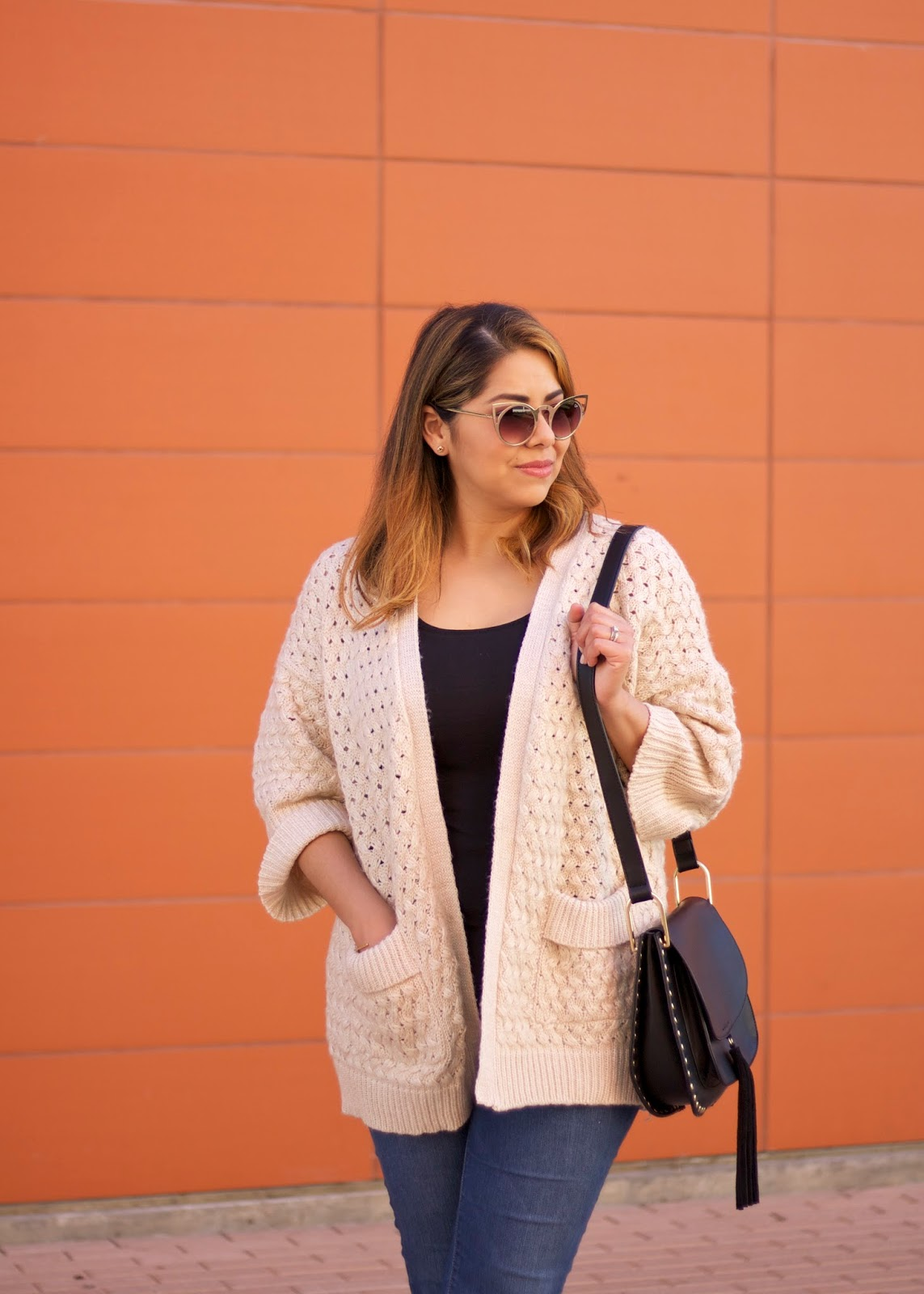 quay invader sunglasses, quay gold sunglasses, shein knitted sweater, sheinside blogger, shein coupon code