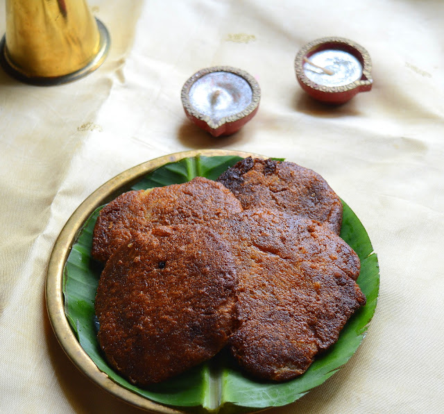 Thinnai Adhirasam | Foxtail Millet Jaggery Sweet | Diwali Sweet