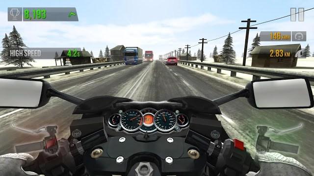 Traffic Rider Mega MOD Screenshot 1