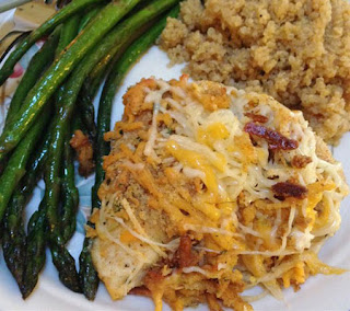 Garlic Cheddar Chicken Recipe