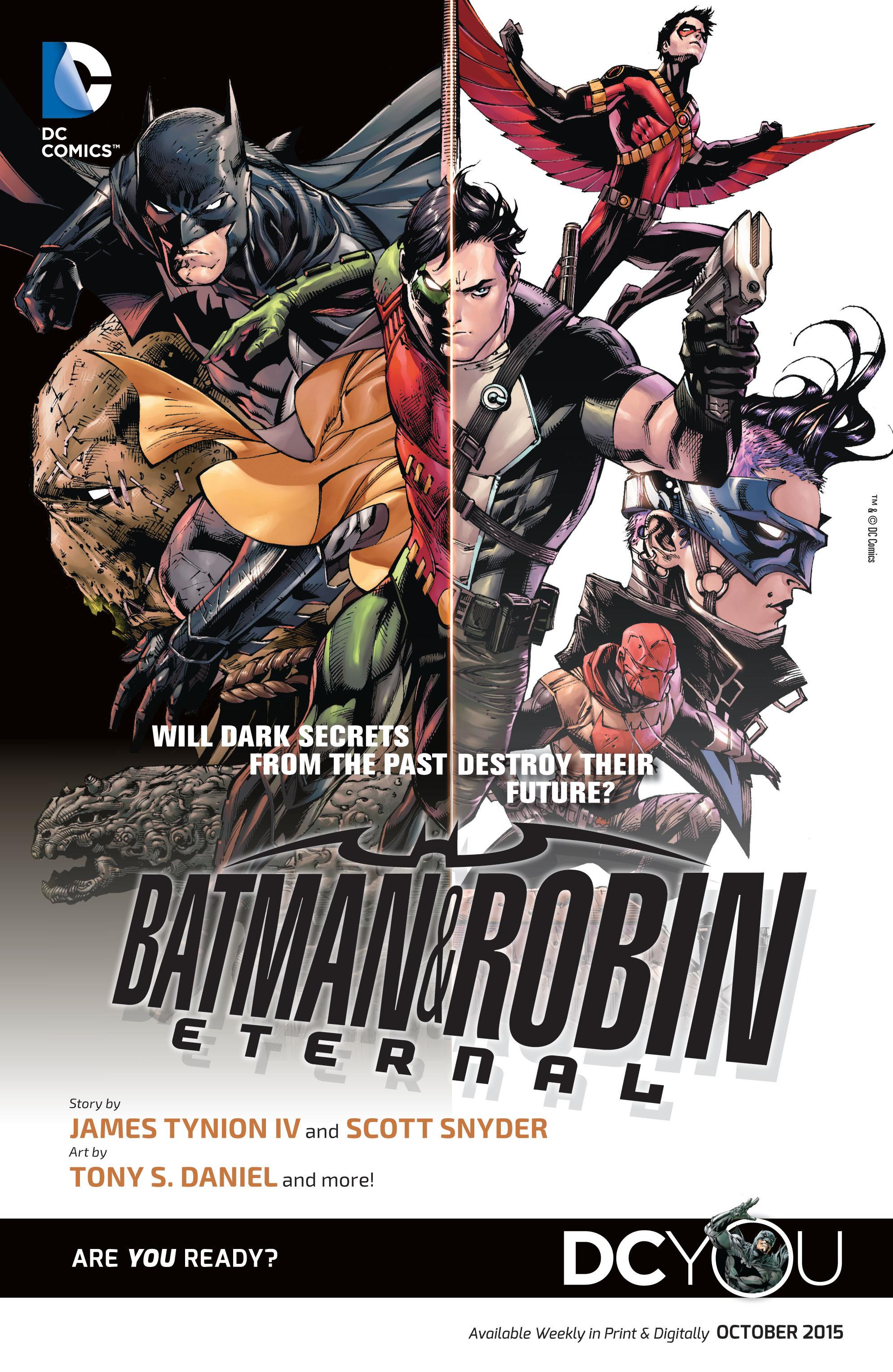 Read online Aquaman (2011) comic -  Issue #43 - 22