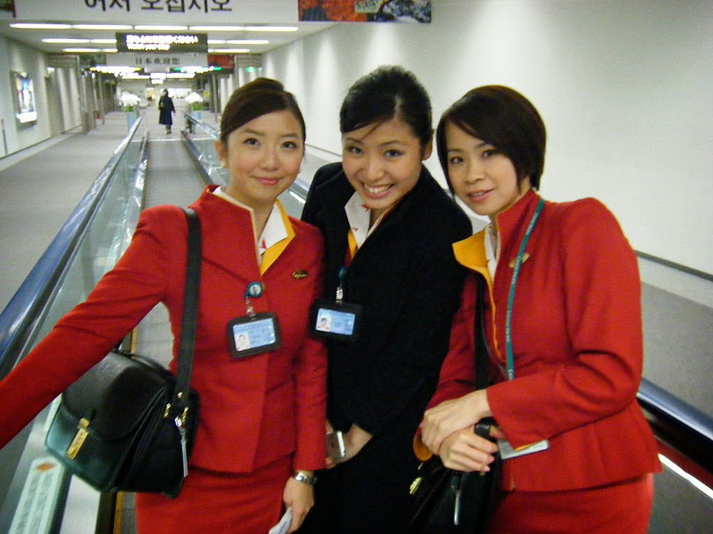 Cathay Pacific Beauty: Eden Lo ~ World stewardess Crews