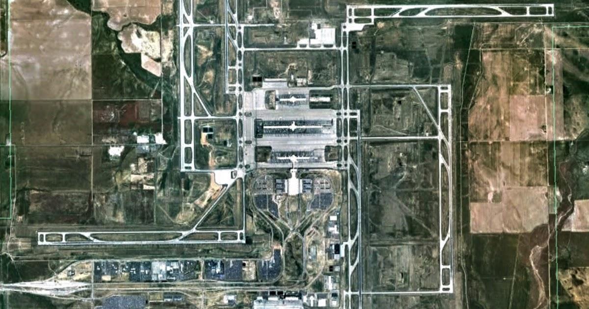 Denver International Airport Swastika