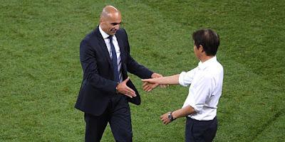 2018FIFAワールドカップ 日本対ベルギー