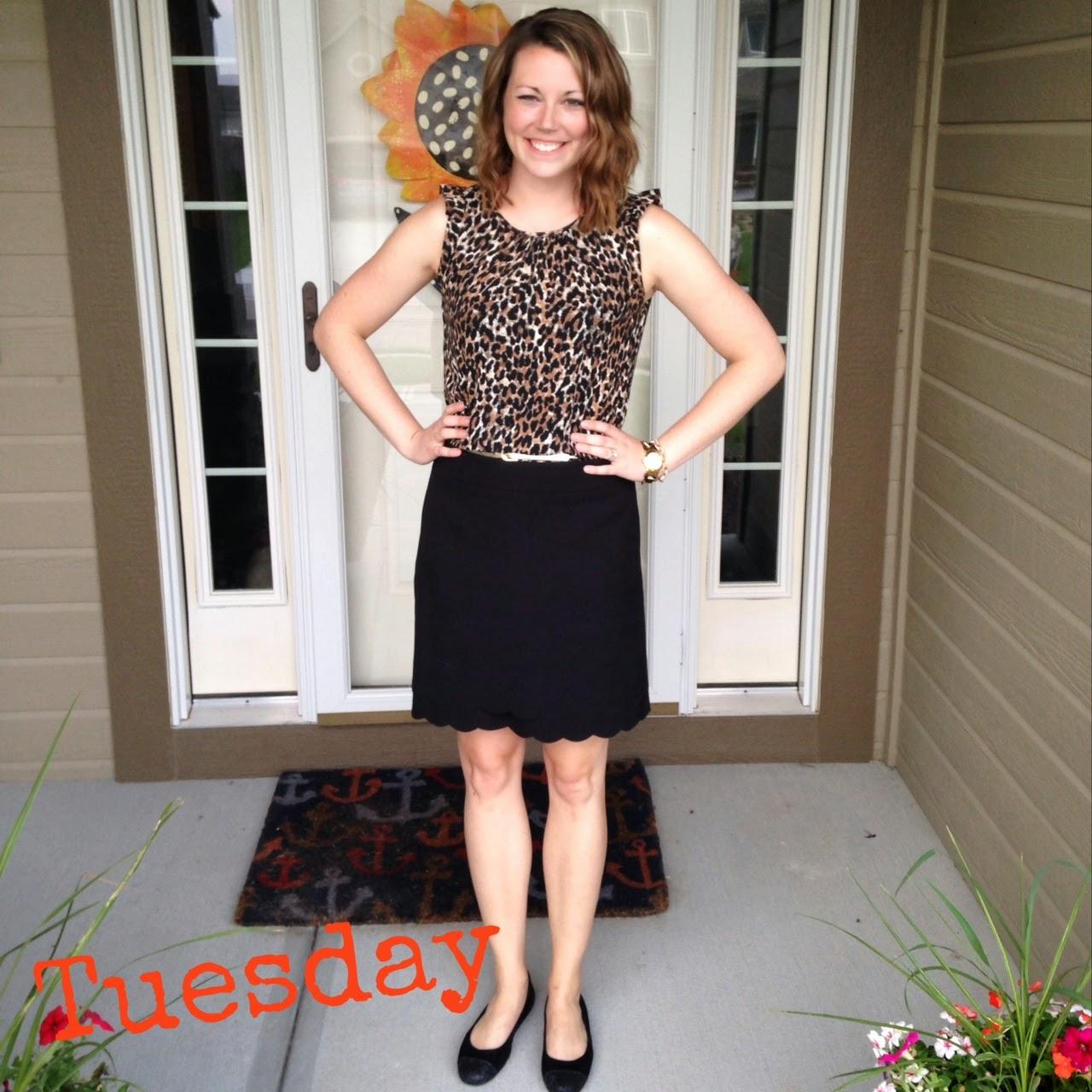 The Fashionista Teacher: Back To School Fashion Week Day 4