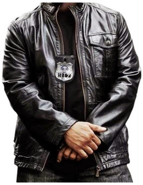 Gambar Jaket Kulit Polisi Dari Film Ride Along Ice Cube James Payton