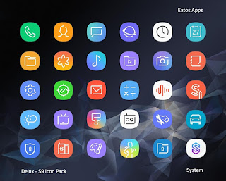 Delux UX S9 Icon Pack v2.0.2 Patch Full APK