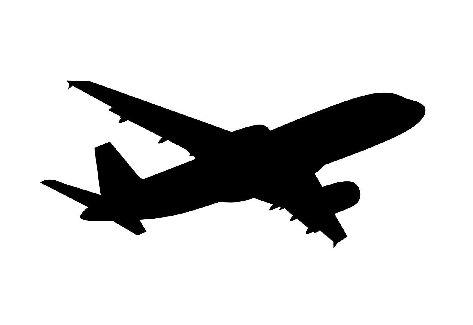 jumbo jet, airplane, aeroplane, vehicle, transportation, travel, vacation, fly, flight, silhouette