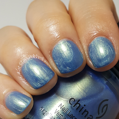 China Glaze Seas and Greetings - Joy to the Waves | Kat Stays Polished
